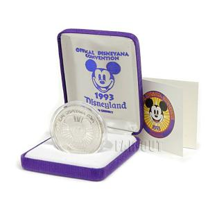 ディズニアナコンベンション1993 (バンドコンサート) ミッキー シルバーコイン メダル 純銀 バンドリーダー ディズニー DL far-out