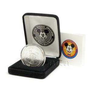 ディズニアナコンベンション1995 ミッキー シルバーコイン メダル 純銀 ディズニー WDW|far-out