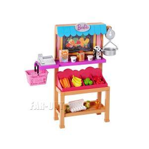 バービー お買い物 プレイセット グロサリースタンド 家具 Barbie Grocery Playset|far-out