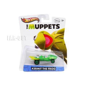 ザ・マペッツ カーミット ホットウィール メタルダイキャスト ミニカー The Muppets Hot Wheels ディズニー|far-out