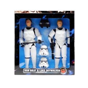 スター・ウォーズ ハン・ソロ&ルーク・スカイウォーカー ストームトルーパー ポーザブルドール 人形 ボックス入り2点セット コレクターシリーズ Kenner社|far-out