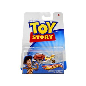 ホットウィール トイストーリー ウッディー メタルダイキャストカー ディズニー ピクサー ミニカー TOY STORY Hot Wheels Wheelin' Woody|far-out