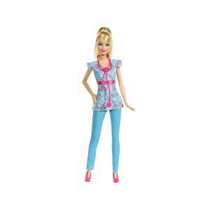バービー ナース ドール ポニーテール 水色の制服 人形 ブロンドヘア Barbie Nurse 看護師 看護婦 (BDT23)|far-out
