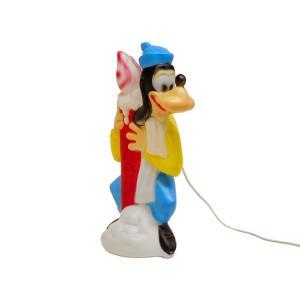 グーフィー イルミネーションライト クリスマス ライトアップディスプレイ フィギュア 1970年代 ヴィンテージ ラージサイズ ディズニー GOOFY NOEL|far-out