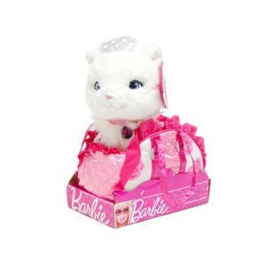 バービー 子猫のブリッサ ぬいぐるみ フラワー柄 ハンドバッグ入り ホワイトキャット RUSS Barbie Fashion Pet Set Blissa|far-out