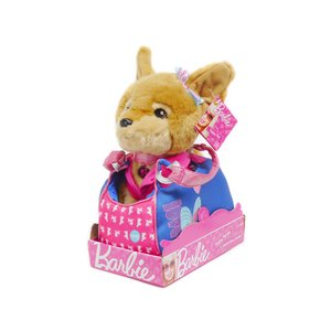 バービー チワワ レイシー ぬいぐるみ LOVE ブルー ハンドバッグ入り RUSS Barbie Fashion Set Lacey|far-out
