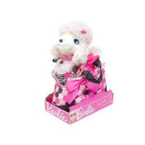 バービー ピンクプードル シークイン ぬいぐるみ ポルカドット柄 ハンドバッグ入り 子犬 RUSS Barbie Fashion Pet Set Sequin|far-out