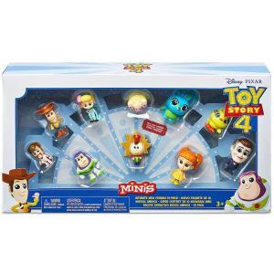 トイストーリー4 ミニズ キャラクターセット 10点入り ミニフィギュア ボックス入り マテル社 Toy Story 4 minis