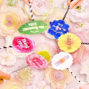 プレ花嫁さん話題DIY「フラワーフォトプロップス(ハンドメイドキット)」|farbe