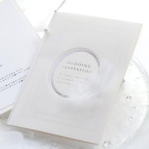 結婚式 招待状 フェリーク 招待状完成品オーダー 20部から|farbe