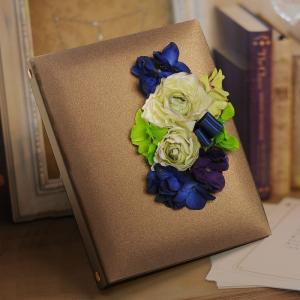 両親贈呈品 花嫁手紙 ブライズセット 「ブライト」感謝状・フォトアルバム・結婚|farbe|02