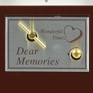 両親贈呈品 サンクスオルゴール<ブラウンクロック>/結婚式 プレゼント|farbe|05
