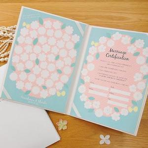 結婚証明書 ゲスト参加型 フラワー / 結婚式|farbe