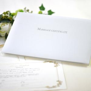 結婚証明書 ノーブル結婚式・婚礼・ブライダル|farbe