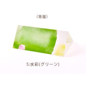 席札 グラフィック 海外風デザインシリーズ(印刷込 完成品)/結婚式・イベント・パーティー・謝恩会 farbe 13
