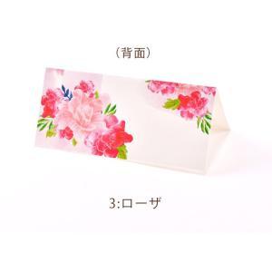 席札 グラフィック 海外風デザインシリーズ(印刷込 完成品)/結婚式・イベント・パーティー・謝恩会 farbe 09
