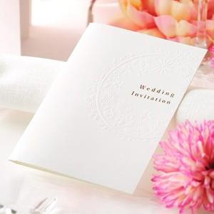 「招待状完成品オーダー」華毬(印刷つき)/結婚式|farbe