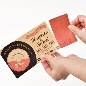 招待状 半券付チケット風「ミュージック」(入力印刷込) / 結婚式 ブライダル|farbe|05