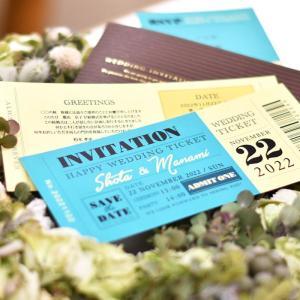 招待状 チケット風スタンダード(入力印刷込)/結婚式|farbe|02
