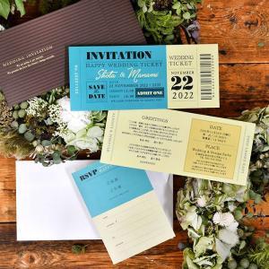 招待状 チケット風スタンダード(入力印刷込)/結婚式|farbe|09