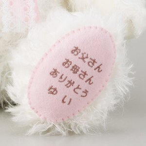 体重ベアー・ウェイトベアー「ベリーナ」/結婚式両親へのプレゼント|farbe|06