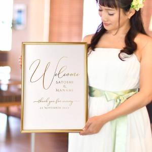 【即日出荷】金箔のウェルカムボード「クーレーゴールド」/結婚式 パーティー|farbe|03