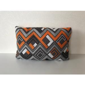 枕型クッション オレンジ|faristyle