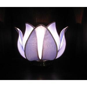 ベトナム製 ロータスランプ M 青|faristyle