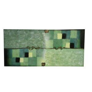 バリモダン アートパネル 150*70B (アジアンインテリア)|faristyle
