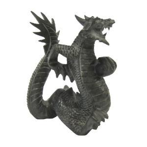 バリ島製 木彫りオブジェ 龍 H20 Left(アジアンインテリア) |faristyle