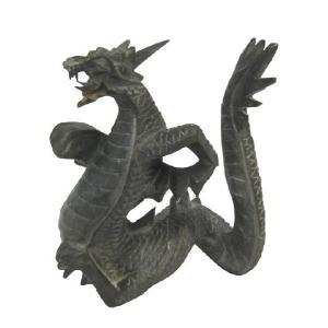バリ島製 木彫りオブジェ 龍 H20 Right (アジアンインテリア)|faristyle