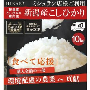 お米 10kg コシヒカリ 米 新潟県産こしひかり 産地直送 5kg×2袋 10kg×1袋 産地限定 送料無料 選べる 白米 玄米