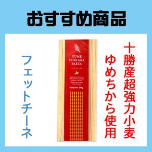 ゆめちからパスタ 超強力小麦ゆめちから100%使用 フェットチーネタイプ farmtokachi