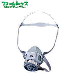 農薬散布用マスク サンコー スカイマスク 粉剤・液剤・土壌くん蒸用 防護マスク|farmtop