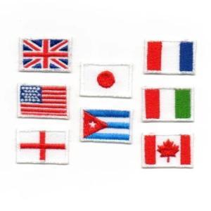 国旗のアイロンワッペン【L】|farnnie-ya