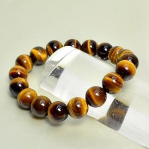 パワーストーン  天然石 高品質タイガーアイ AAAAA 10ミリ玉ブレスレット fashion-cloak