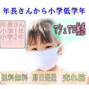 子供用 マスク 5枚入り やわらか しっかり 水色 当日発送 個別梱包 厚め マシュマロ触感 低学年...