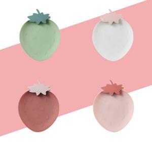 お皿 かわいい いちごのお皿 プラスチック製 おしゃれ