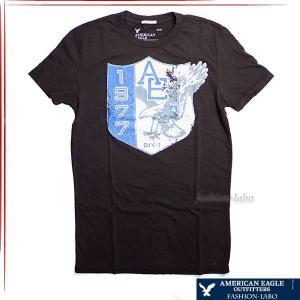 アメリカンイーグル AMERICAN EAGLE メンズ Tシャツ 半そで 半袖 チャコール ネイビー カジュアル アメカジ ヴィンテージ ブランド おしゃれ fashion-labo