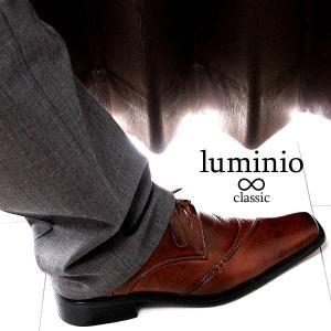 ビジネスシューズ メンズ 革靴 イタリアンクラシコ 歩きやすい フォーマル 紳士靴 靴 PU 仕事 就活 ルミニーオ luminio 041 セール 2018 秋冬 新作|fashion-labo|05