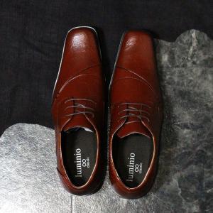 ビジネスシューズ メンズ 革靴 イタリアンクラシコ 歩きやすい フォーマル 紳士靴 靴 PU 仕事 就活 ルミニーオ luminio 041 セール 2018 秋冬 新作|fashion-labo|10
