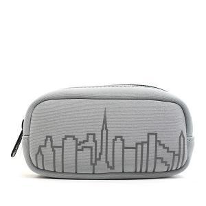 マンハッタンポーテージ ポーチ スカイラインポーチ 小物入れ メンズ レディース シルバー グレー 1077NP Manhattan Portage ブランド fashion-labo