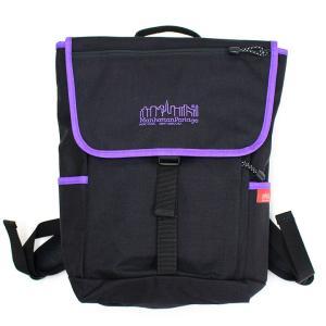 マンハッタンポーテージ Manhattan Portage バッグ リュック デイパック バックパック メンズ レディース ブラック パープル ロゴ ブランド 1220jrlmns-blpu fashion-labo
