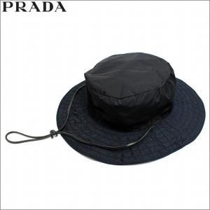 プラダ PRADA 帽子 ハット ナイロン ブラック NERO レディース アウトレット ブランド 2h0129 セール 2018 秋冬 新作|fashion-labo