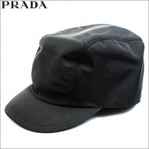 プラダ PRADA 帽子 キャップ ナイロン ブラック レディース アウトレット ブランド 2h0596 セール 2018 秋冬 新作|fashion-labo