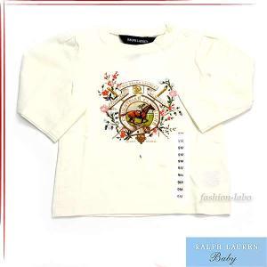 赤札 ポロ ラルフローレン POLO RALPH LAUREN ロゴ 長袖 Tシャツ ベビー服 370119650 fashion-labo
