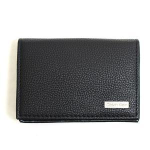 カルバンクライン Calvin Klein CK カードケース 名刺入れ メンズ ブラック 黒色 レザー 本革 ビジネス ロゴ ブランド 79218 fashion-labo