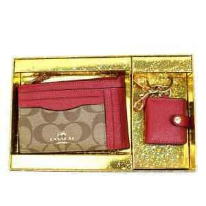 コインケース カードケース ギフト コーチ COACH IDケース セット シグネチャー ブランド 1941|fashion-labo