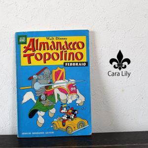 アンティーク 1969年 本 漫画 マンガ アニメ ディズニー オブジェ イタリア製 雑貨 ca07|fashion-labo