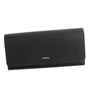 フルラ FURLA 財布 長財布 フラップ長財布 PU02 レディース ブラック 黒 牛革 ブランド fashion-labo